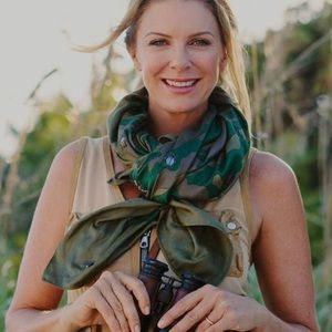 SOLD OUT India Hicks Camouflage Fortune Scarf NEW